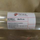 Worbla's Transpa Art. Termoplástico Transparente