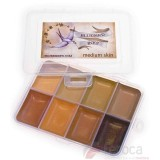 Bluebird FX ­ Medium Skin Palette -8 colores-