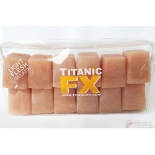 Titanic Fx Gelatina Prostética -Carne de color Claro-