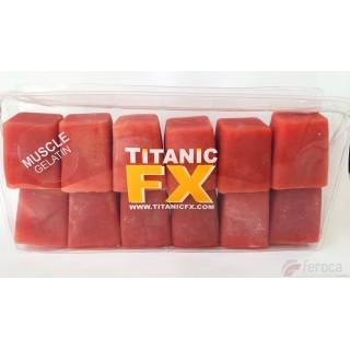 Titanic Fx Gelatina Prostética -Color Músculo-