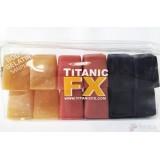 Titanic Fx Gelatina Prostética -Pack Cuerpo Humano-