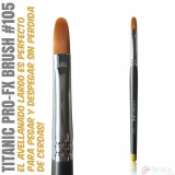 TITANIC PRO-FX BRUSH 105 -Avellanado Largo-