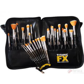 Saco de suporte profissional de escova TITANIC FX