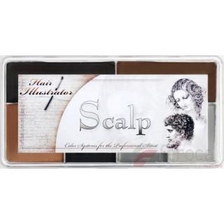 Hair Illustrator Scalp Palette