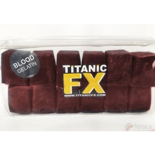 Titanic Fx Gelatina Prostética -Color Sangre-