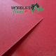 Worbla's Flame Red Art.