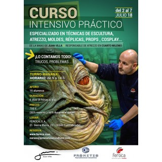 Intensive Course 1 week with Juan Villa (2018-07) TURN MORNING