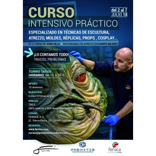 Intensive Course 1 week with Juan Villa (2018-07) LATE SHIFT