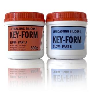KEY-FORM -Platinum Silicone for LifeCast-