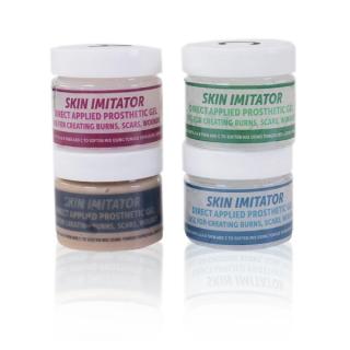 Imitador de pele -Silicone adesivo para efeitos de maquiagem-