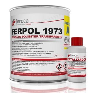 Ferpol 1973 Resina Transparente -Oclusões-
