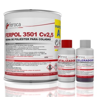 Ferpol 3501 CV2.5 -Castings-