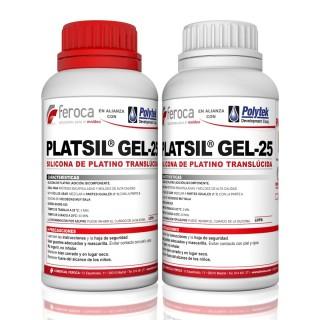 Platsil Gel-25 -Silicone de platina-