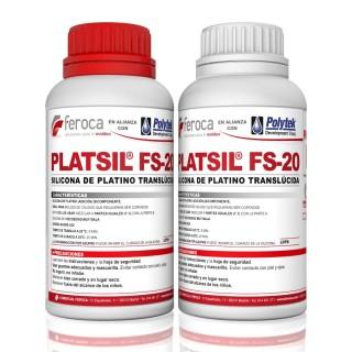 Platsil FS-20 -Silicone de platina-