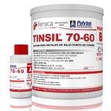 Tinsil 70-60 -Silicona metales bajo punto de fusión-