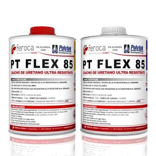 PT Flex 85 -Caucho de Poliuretano Ultra Resistente -