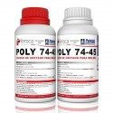 Poly 74-45 -Polyurethane rubber for molds-