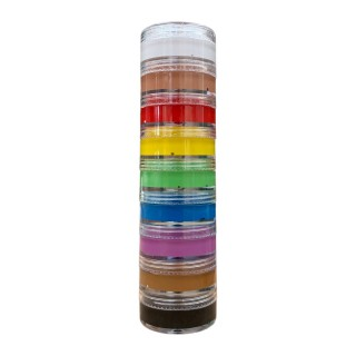 Color Tube 60gr -Pack of 9 Colors-