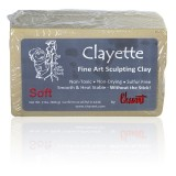Clayette de Chavant Soft (Baja Dureza)  -Plastilina Profesional para Modelar-
