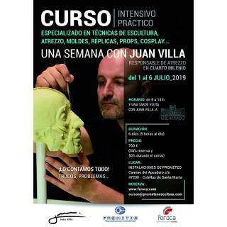 Curso Intensivo 1 semana con Juan Villa (1 al 6-07-2019)
