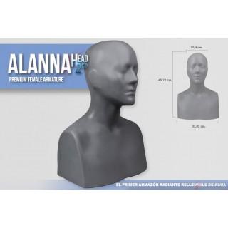 Armazón Anatómico Rellenable de Agua ALANNA HEAD H2.0
