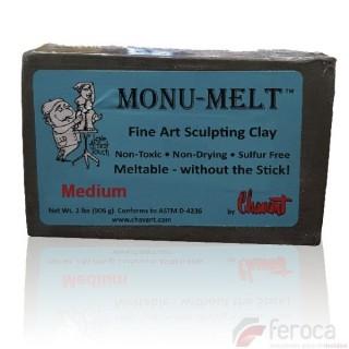 Monu-Melt de Chavant Medium (Dureza Media)  -Plastilina Profesional para Fundir-