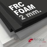 FRC FOAM NEGRA 2mm -Goma EVA Alta Densidad-