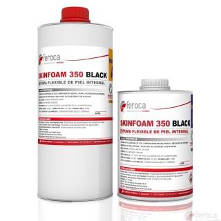 SKINFOAM 350 BLACK -Espuma Flexible de Piel Integral Negra