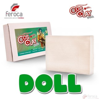 Cosclay Doll Faerie Light -Flexible Polymer Clay-