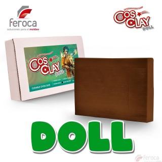 Cosclay Doll Beaut Brown  -Arcilla Polimérica flexible-