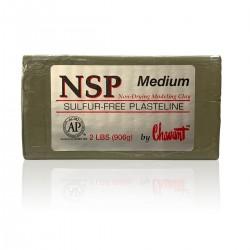 Chavant Medium (Dureza Media)  -Plastilina Profesional para Modelar-