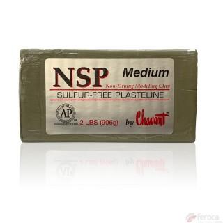 Chavant plastilina média -profissional para modelagem-