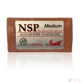 Chavant Medium Marrón -Plastilina Profesional para Modelar-