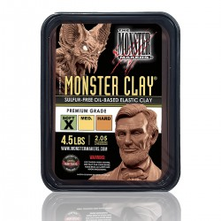 Monster Clay SOFT -Professional Modeling Plasticine-