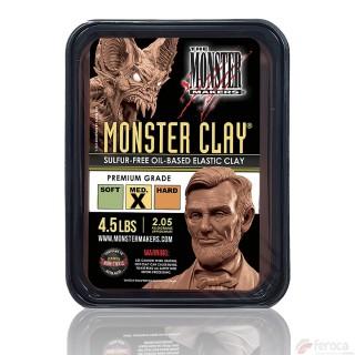 Monster Clay Premium Grade MEDIUM -Modelagem Profissional Plastiline-
