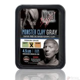 Monster Clay GREY MEDIUM -Plastilina de Modelado Profesional-