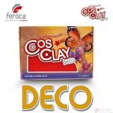 Cosclay Deco Red  -Arcilla Polimérica flexible-