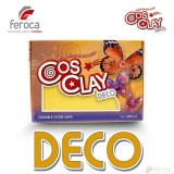 Cosclay Deco Yellow  -Arcilla Polimérica flexible-
