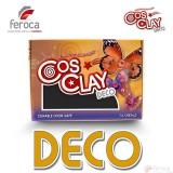Cosclay Deco Black  -Arcilla Polimérica flexible-