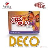 Cosclay Deco White  -Arcilla Polimérica flexible-