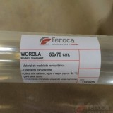 Worbla Termoplástico Transparente. Worbla's Traspa Art