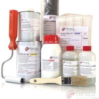 Kit de laminados Carbono/Epoxi