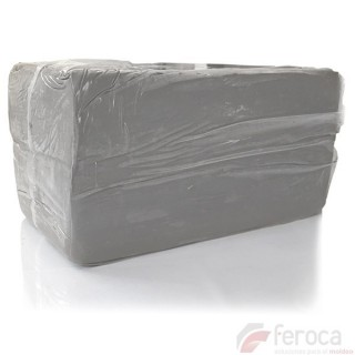 Argila BRANCA EM-210 -Argila para sobrepor moldes-