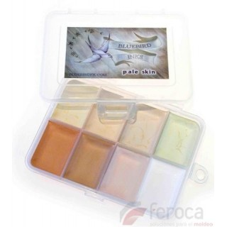 Bluebird FX ­ Pale Skin Palette -8 colors-