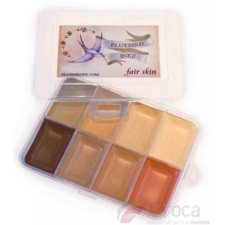 Bluebird FX ­ Fair Skin Palette -8 colores-