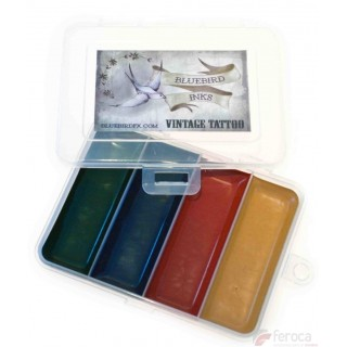 Bluebird FX ­ Vintage Tattoo Palette -4 colors-