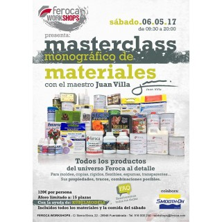 Feroca WorkShops MasterClass (6-05-2017)