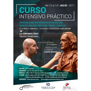 Intensive Course 1 week with Juan Villa (10 to 14-07-2017)