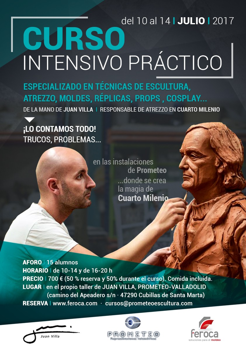 Curso Intensivo 1 semana con Juan Villa (10 al 14-07-2017) - Feroca, S.A.