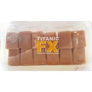 Titanic Fx Gelatina Prostética -Carne de color Medio-